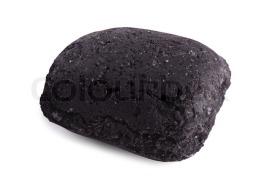 single piece of coal